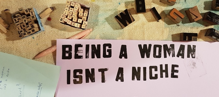 being a woman isn't a niche